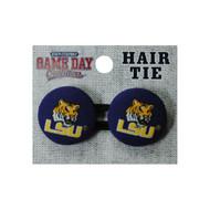 Louisiana State LSU Ponytail Holder Hair Tie