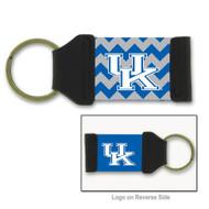 University of Kentucky Chevron Keychain
