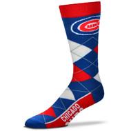 Chicago Cubs Argyle Socks