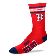 Boston Red Sox Large '4 Stripe' Deuce Socks