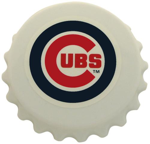 Chicago Cubs Magnet Bottle Opener