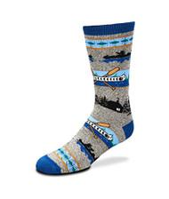 Canoe River Gray Medium Socks
