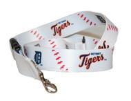 Detroit Tigers Baseball Stitches Lanyard