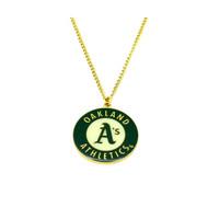 Oakland Athletics Pendant Necklace
