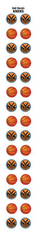 New York Knicks Nail Sticker Decals