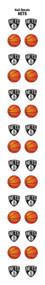 Brooklyn Nets Nail Sticker Decals