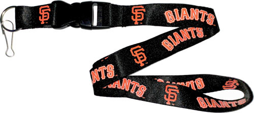San Francisco Giants Lanyard Keychain