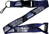 Colorado Rockies Lanyard Keychain