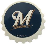 Milwaukee Brewers Magnet Bottle Opener