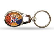 Oklahoma City Thunder Oval Keychain