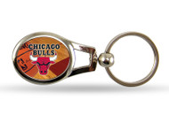 Chicago Bulls Oval Keychain