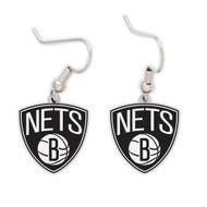 Brooklyn Nets Dangle Earrings NBA