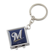 Milwaukee Brewers Compact Mirror Keychain