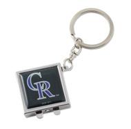 Colorado Rockies Compact Mirror Keychain