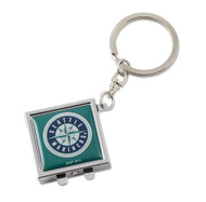 Seattle Mariners Compact Mirror Keychain