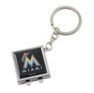 Florida Marlins Compact Mirror Keychain
