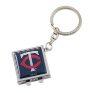 Minnesota Twins Compact Mirror Keychain