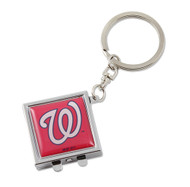 Washington Nationals Compact Mirror Keychain
