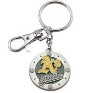 Oakland Athletics Impact Keychain