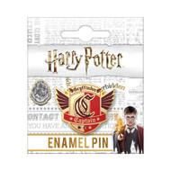 Harry Potter Gryffindor Captain Enamel Pin
