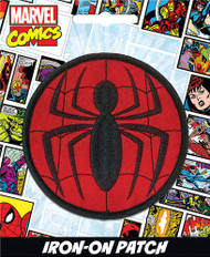 Spiderman Logo Full Color Iron-On Patch