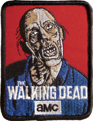 Walking Dead Full Color Iron-On Patch
