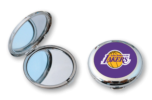Los Angeles Lakers Compact Mirror