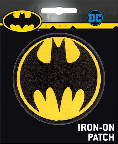 Batman Signal Full Color Iron-On Patch