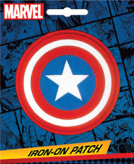Captain America Shield Full Color Iron-On Patch