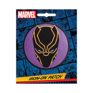 Black Panther Full Color Iron-On Patch
