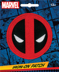 Deadpool Logo Full Color Iron-On Patch