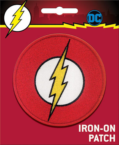 Flash Logo Full Color Iron-On Patch