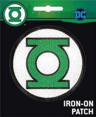 Green Lantern Logo Full Color Iron-On Patch