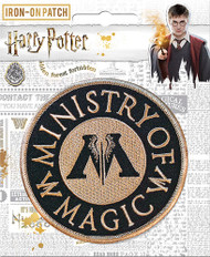 Harry Potter Ministry of Magic Full Color Iron-On Patch