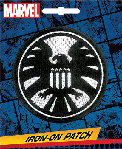 Marvel Comics SHIELD Insignia Full Color Iron-On Patch