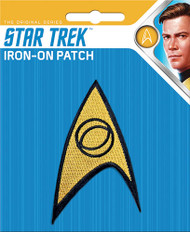 Star Trek Science Insignia Full Color Iron-On Patch