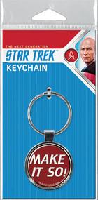 Star Trek The Next Generation Make It So Keychain