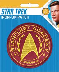 Star Trek Starfleet Academy Command Full Color Iron-On Patch