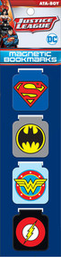DC Comics Logos Magnetic Bookmark Set