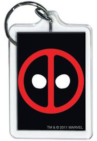 Marvel Comics Deadpool Logo Keychain