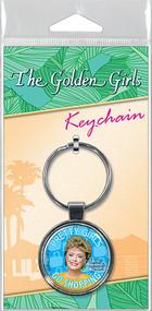 Golden Girls Pretty Girls Go Shopping Keychain