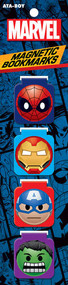 Marvel Comics Emoji Magnetic Bookmark Set