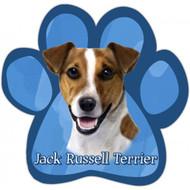 Jack Russel Terrier Paw Print Magnet
