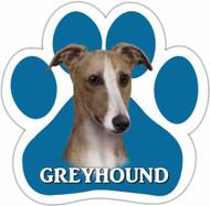 Greyhound Paw Print Magnet