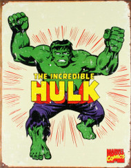 The Incredible Hulk Retro Tin Sign