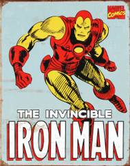 Iron Man Retro Tin Sign