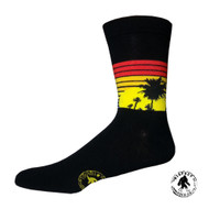Sunset One Size Fits Most Crew Socks