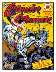 Wonder Woman Cover #1 Tin Sign