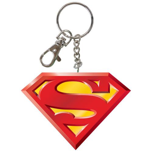 Superman Logo Bendable Keychain