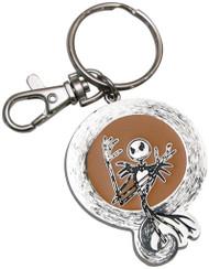 Nightmare Before Christmas Cool Jack Skellington Pewter Keychain